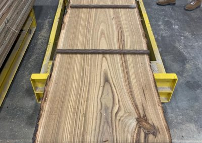 American Chestnut Live Edge Tabletop Slab 2