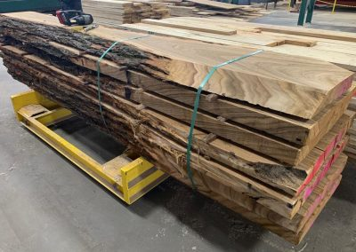 American Chestnut Live Edge Tabletop Slab 4